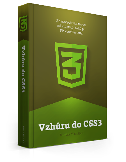 "Ebook ""Vzhůru do CSS3"""